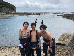 下田シュノーケリングin恵比須島