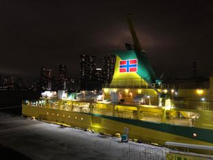 深夜汽船・八丈島へ
