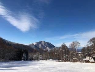 謹賀新年・竜王スキーパーク