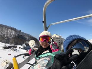 3月の竜王スキーパーク