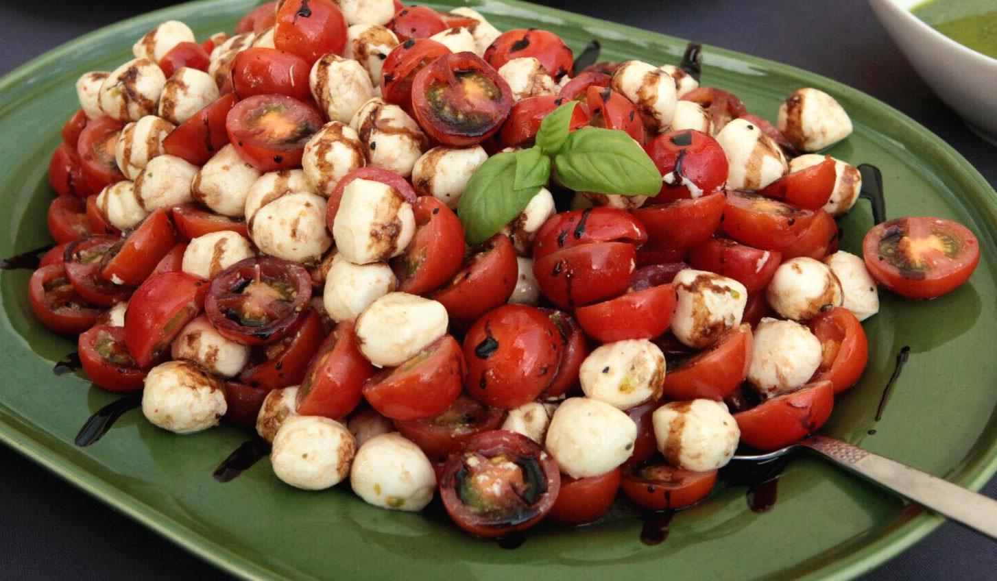 Buffet, Tomate Mozarella