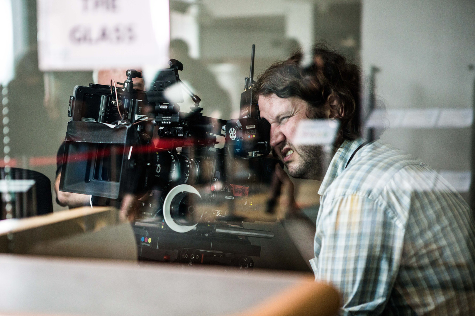 DoP on set of Leave to Remain