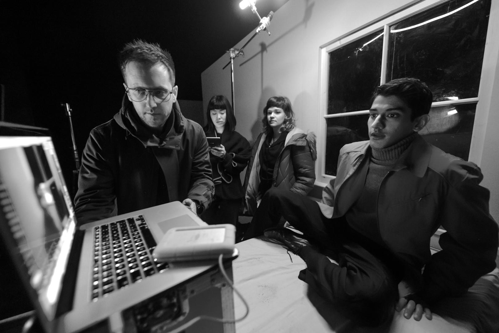 Jon directing Dee Ahluwalia in COSPLAY