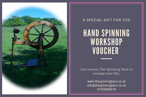 VOUCHER ONE DAY HAND SPINNING GIFT VOUCHER