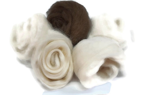 Selection of 5 Rare Breed Wools