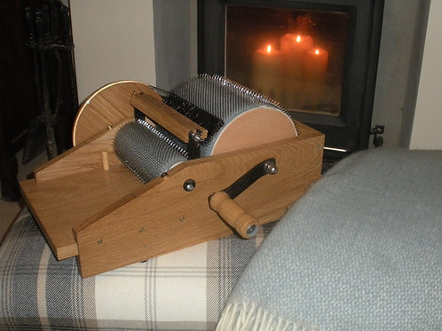 Hand Crafted Drum Carder