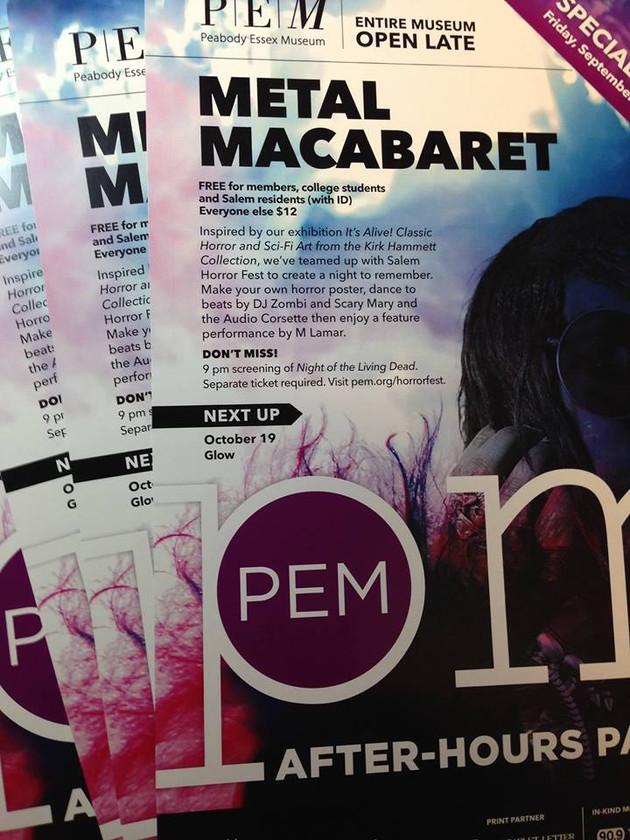 PEM PM Metal Macabaret