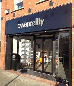 Owen Reilly Front of Shop