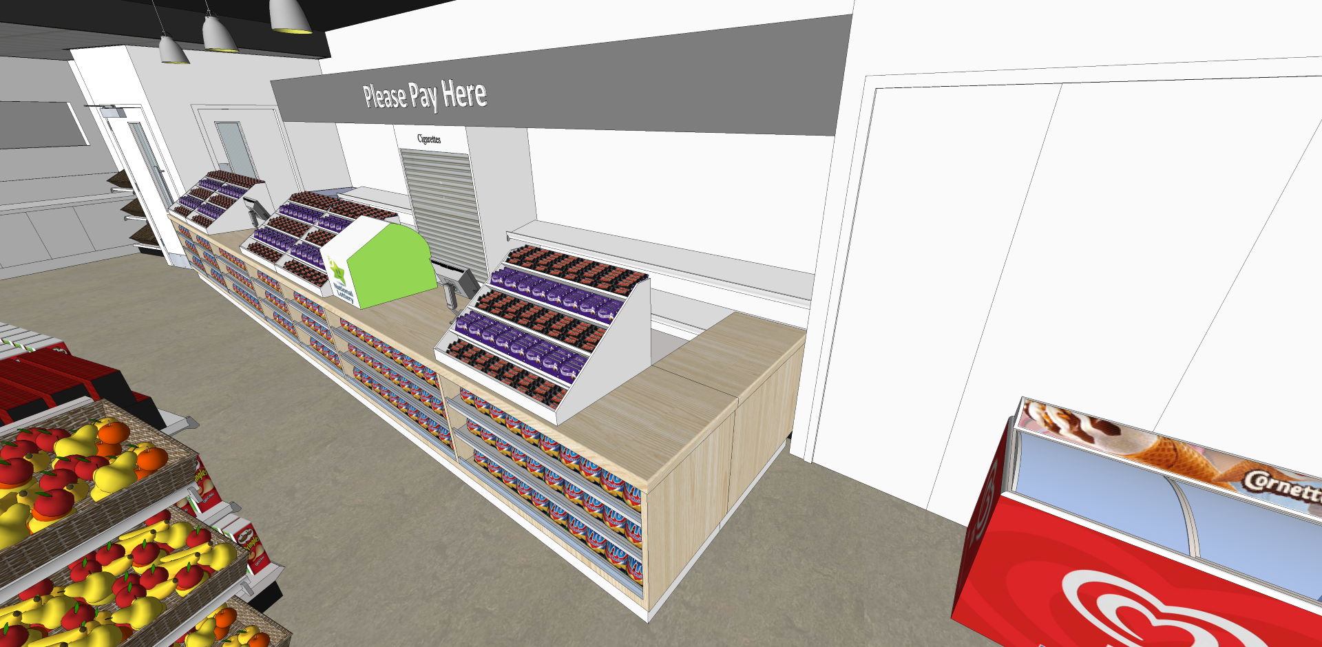 UCDSU 3D Render
