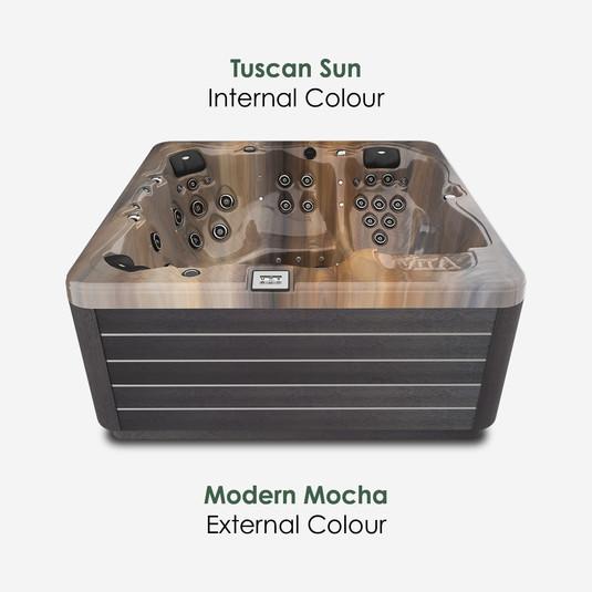 Modern Mocha & Tuscan Sun