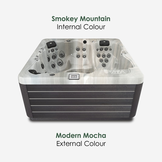 Modern Mocha & Smokey Mountain