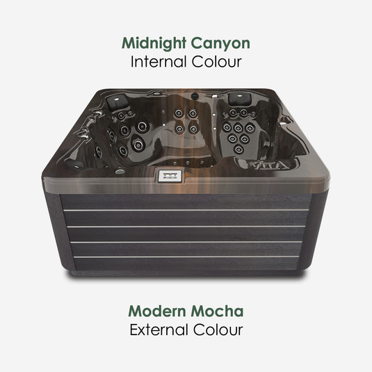 Modern Mocha & Midnight Canyon