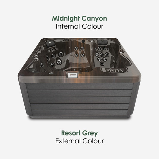Resort Grey & Midnight Canyon