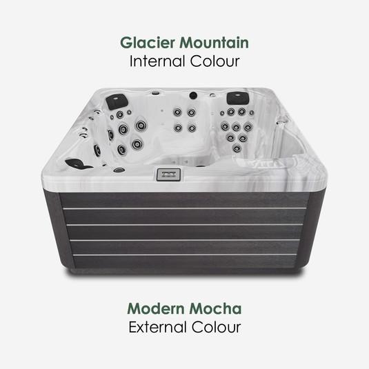 Modern Mocha & Glacier Mountain