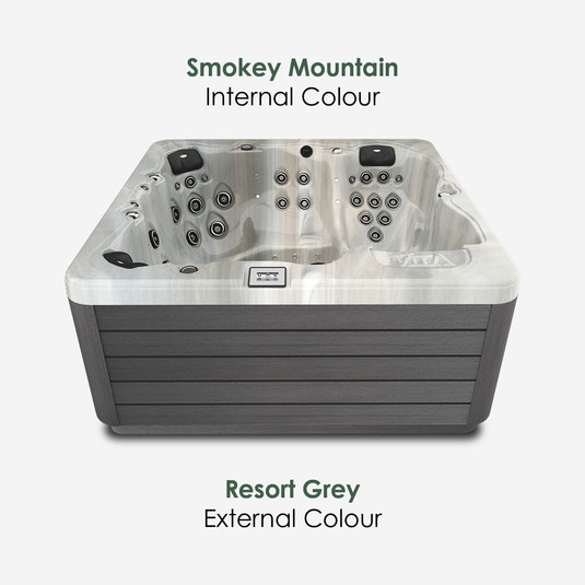 Resort Grey & Smokey Mountain