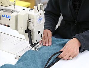 Sewing Machine Operator Working