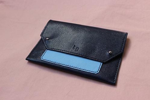 Pochette de Papier de Véhicule - Bleu marine&Bleu ciel