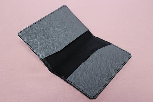 Porte Carte Pliable - Gris&Noir