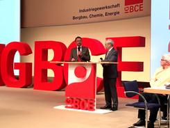 IG BCE Gewerkschaftskongress Lindner und Vassiliadis
