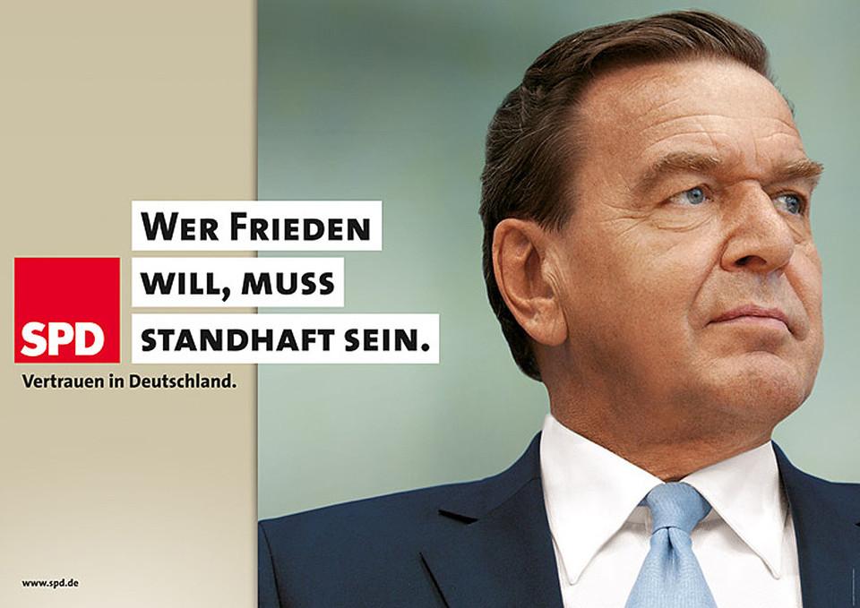 SPD Bundestagswahlkampf