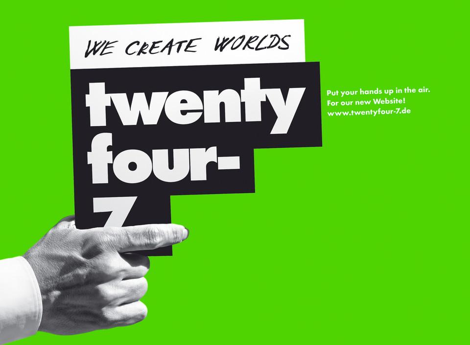 CD-Relaunch für twentyfour-7 Postproduction