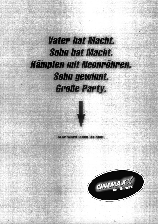 Schülerzeitungskampagne für CinemaxX