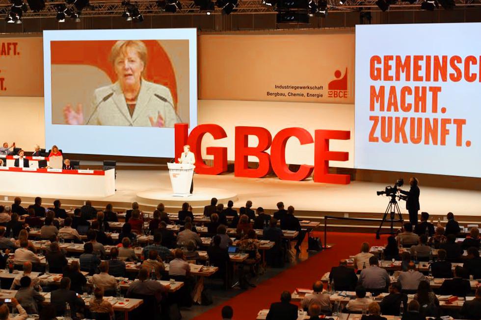 IG BCE Gewerkschaftskongress 2017