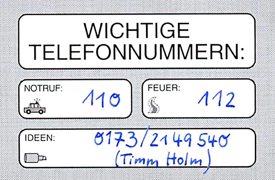 Nur ein Anruf entfernt: Timm Holm