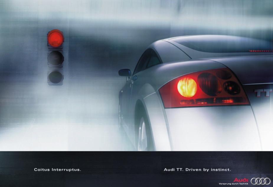 Einführungskampagne für den AUDI TT