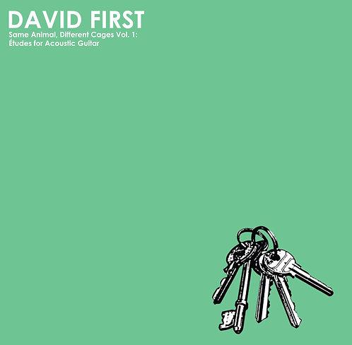 David First - SADC Vol. 1:Études for Acoustic Guitar LP