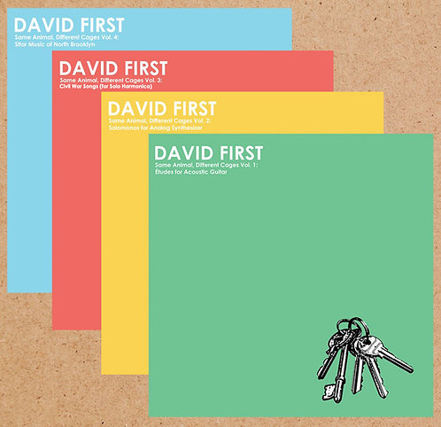 David First - SADC Vol 1-4 LP Bundle