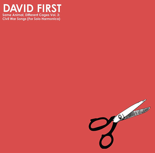 David First - SADC Vol. 3: Civil War Songs (Solo Harmonica) LP