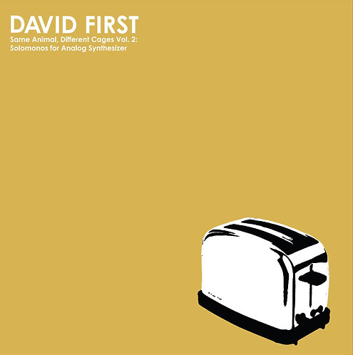 David First - SADC Vol. 2: Solomonos for Analog Synthesizer LP