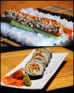 1-SOMC TOgarashi crab sushi