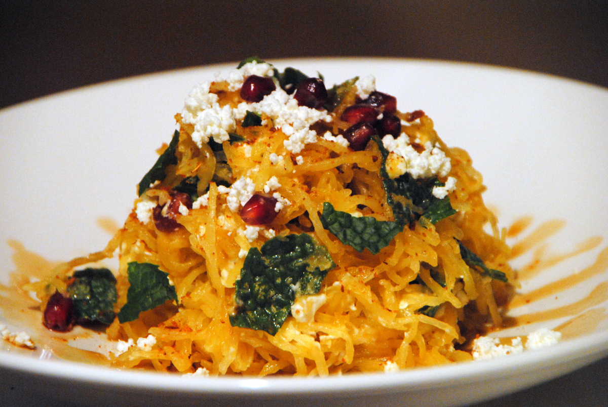1-Spaghetti Squash Salad with Harissa Jan 13, 2014 7-11 PM