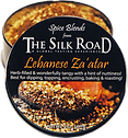 Zaatar enameled can open with raw clean