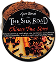 Five Spice enameled can open with raw sp