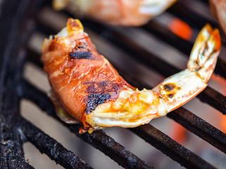 Berbere Bacon-Wrapped Shrimp