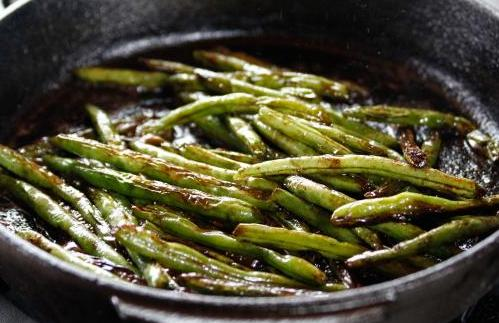 glazed french beans