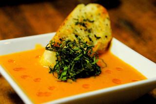 Harissa Tomato Basil Bisque