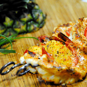 Togarashi Grilled Shrimp