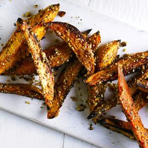 Dukkah Yam Fries