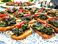 Spinach & Kale Crostini Aug 26, 2017, 4-