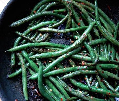 togarashi green beans