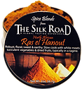 Ras el Hanout enameled can open with raw