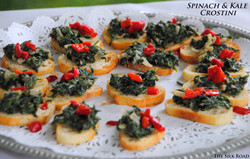 Spinach Crostini Jon & Michelle at Seeley Sep 21, 2013 6-038 Sep 21, 2013 6-15 PM