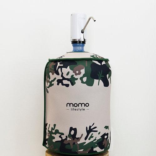 Capa para galão de água dupla face em neoprene Momo Lifestyle ® - Patria Amada