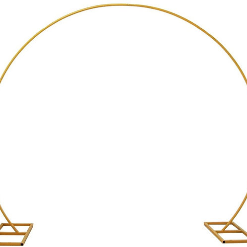 Gold Wedding Arch