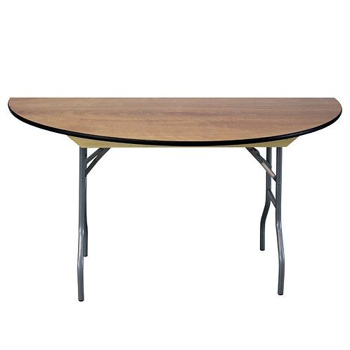 "60"" Half Round Table"