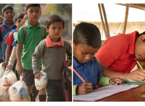 School In India Let Kids Pay Tuition By Recycling Plastic.
